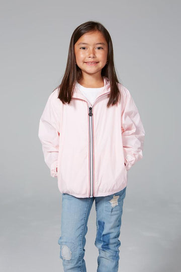 SAM - KIDS BALLET SLIPPER FULL ZIP PACKABLE RAIN JACKET