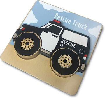 Vehicles Puzzles - Rescue Truck