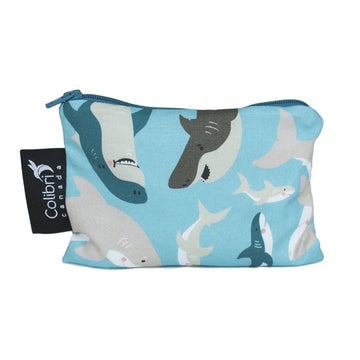 Sharks Reusable Snack Bag