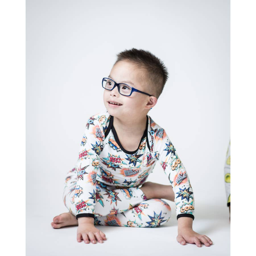 Comic 2 Piece Bamboo Pajama