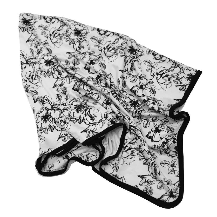 Floral Bamboo Everywhere Blanket