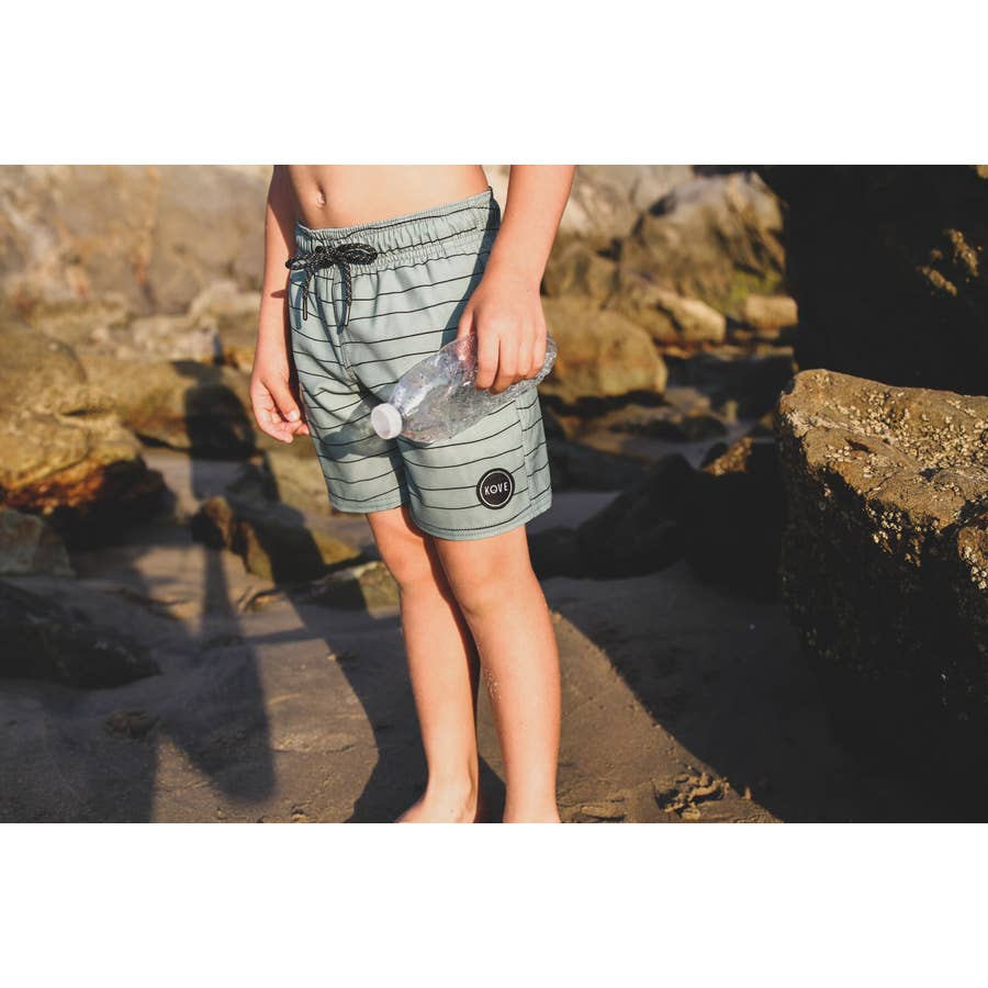 Sage Skipper Recycled Swim Trunks
