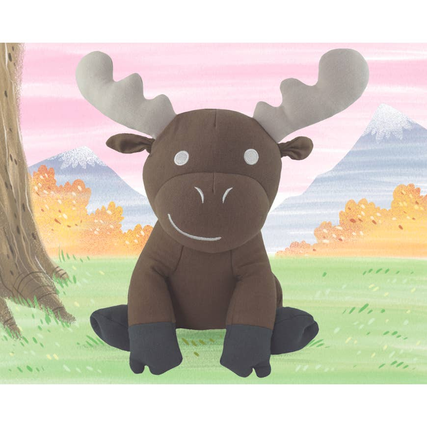 Marvin the Moose Yogi Mate