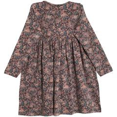 Dress Otilde Soft Eggplant Floral