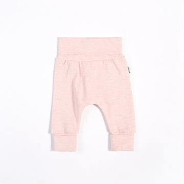 Heather Pink Grow With Me Pant
