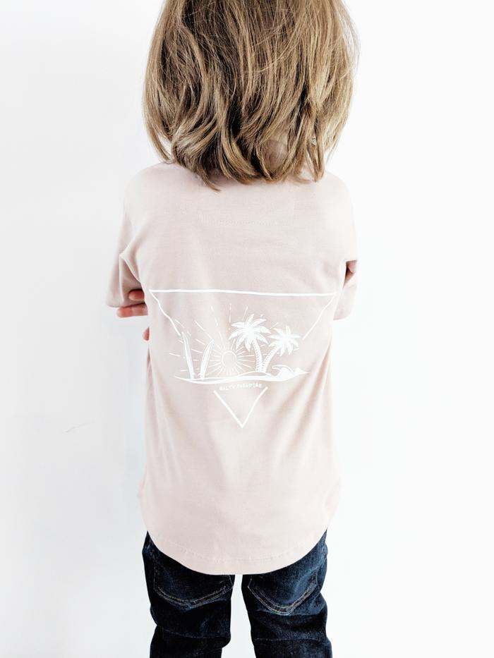 DUST ROSE AWSM BOX TEE
