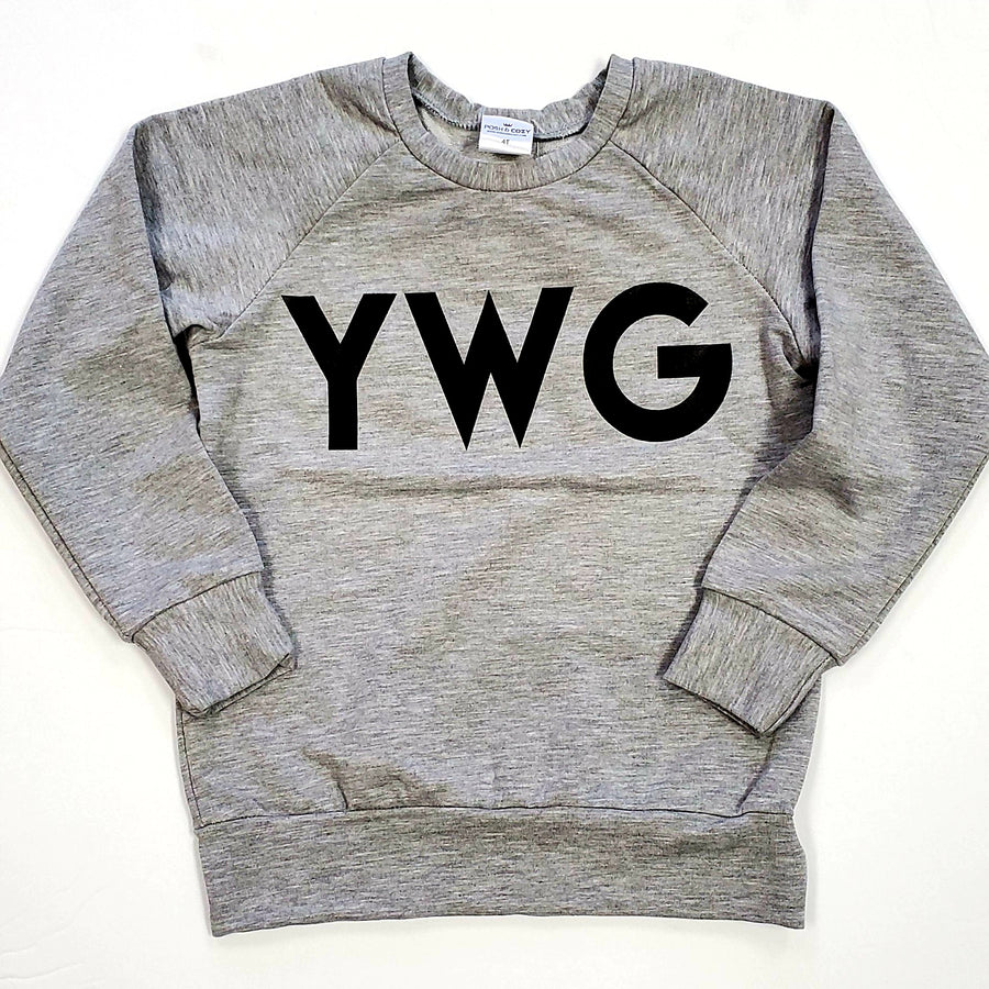 YWG Crewneck - Heather Grey