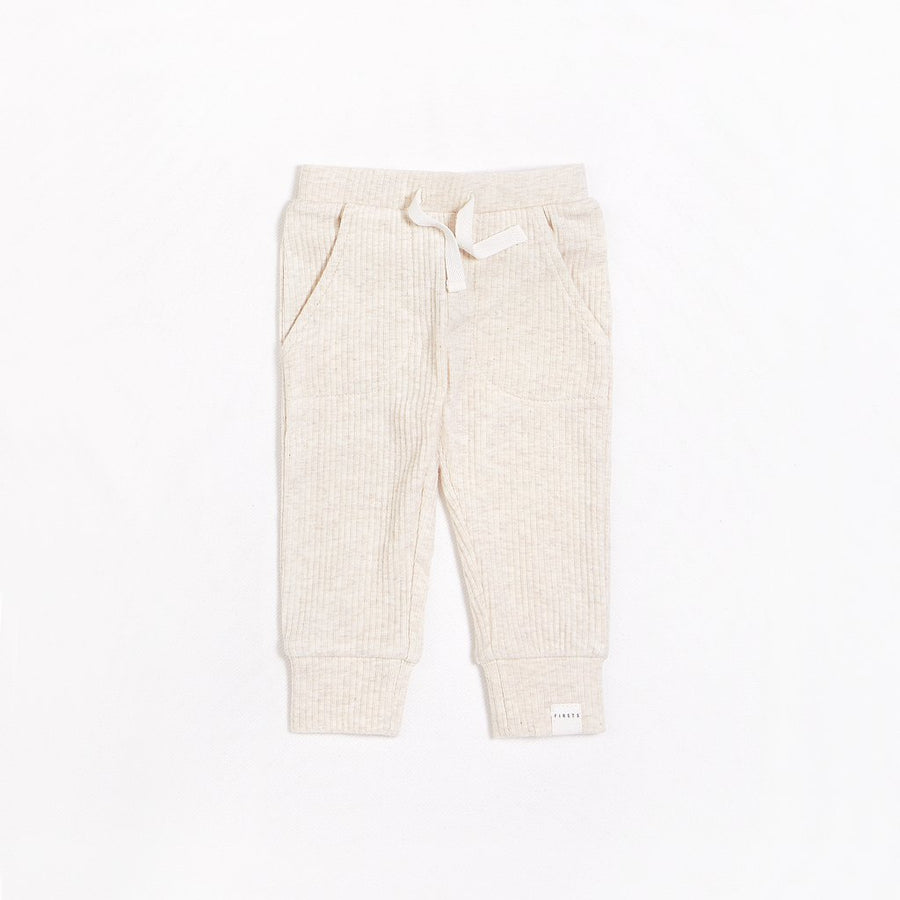 FIRSTS Cream Pant with Organic Cotton