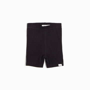 ''MILES BASIC'' BLACK BIKER SHORT