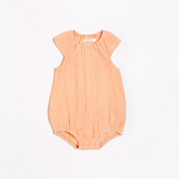 FIRSTS Nectar Bubble Romper with Organic Cotton