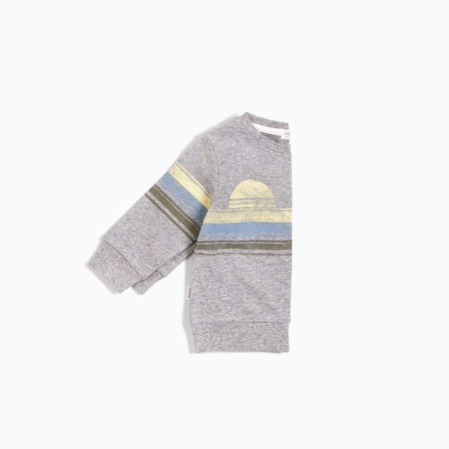 LAKEVIEW SWEATSHIRT IN HEATHER GREY