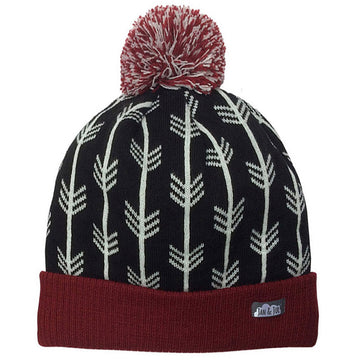 Arrow Knit Winter Hat