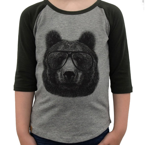 LP Apparel - Bear Tee (Green)