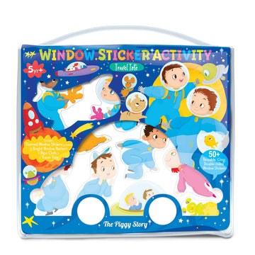 Window Sticker Activity- Space Adventure