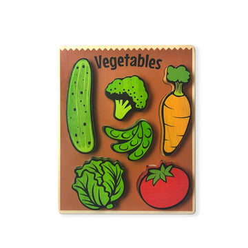 Food Puzzles - Vegetables