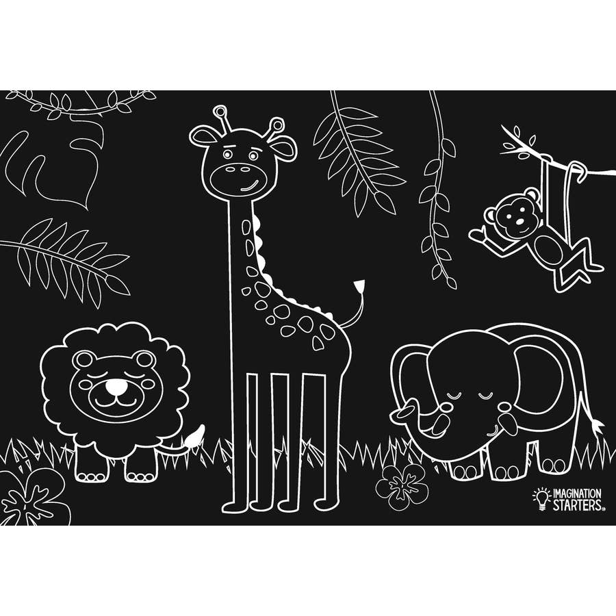 Chalkboard Jungle Placemat