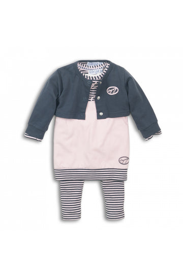 3 Piece Baby Suit with Dress