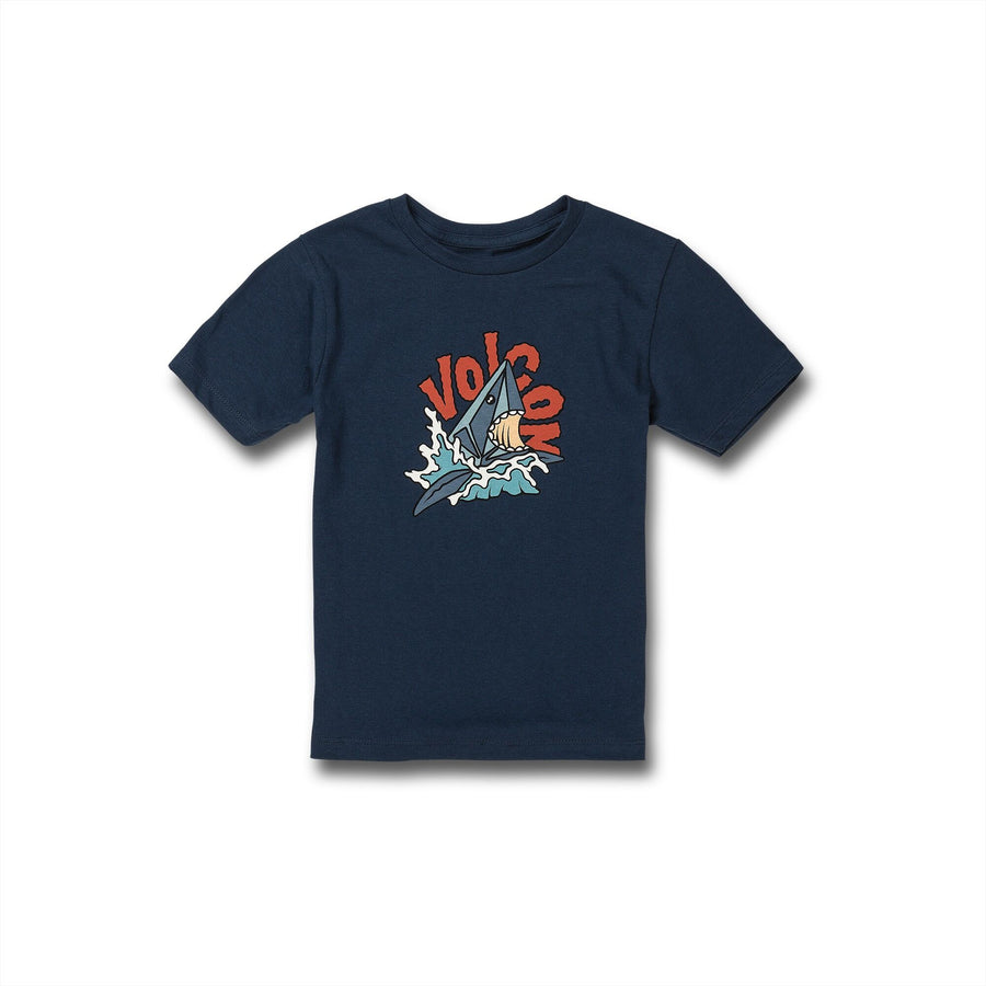 Little Boys Sharkish Short Sleeve Tee - Harbor Blue