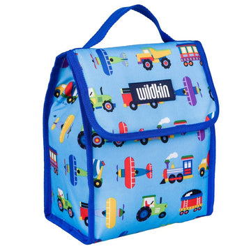 Trains Planes and Trucks Lunch Bag