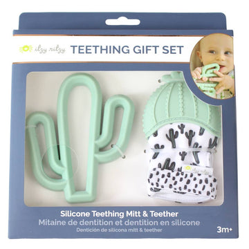 Cactus Teething Mitt & Teether Gift