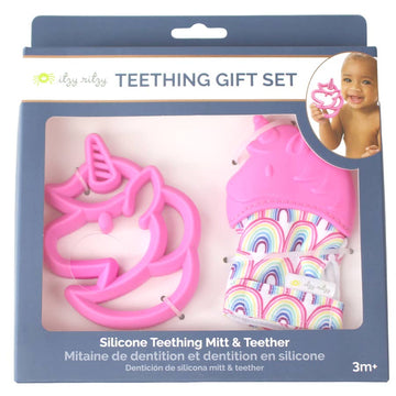 Unicorn Teething Mitt & Teether Gift