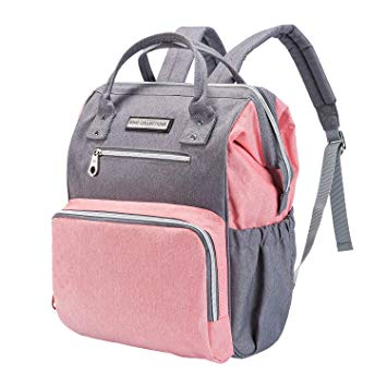 Wide Open 6-pcs Backpack Diaper Bag