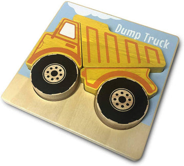 Vehicles Puzzles - Dump Truck