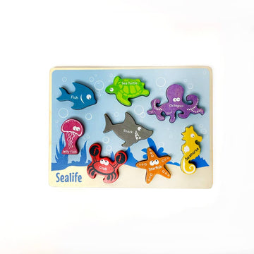 Animal Puzzle - Sealife