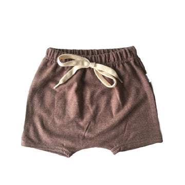 Chocolate Harem Shorts
