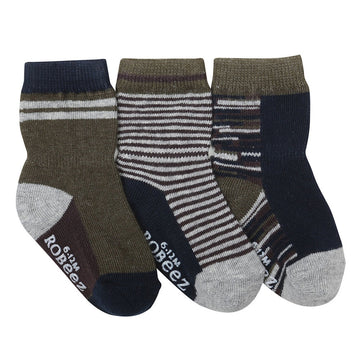 Robeez Athletic Heather Socks, 3-Pack