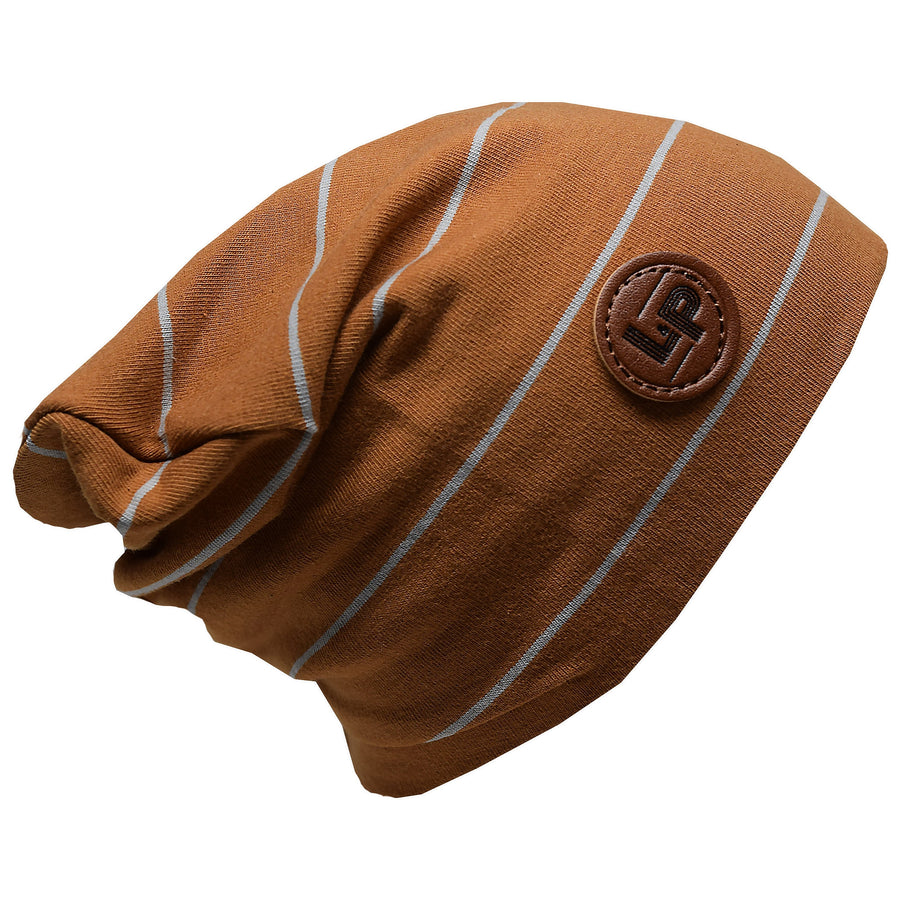 Boston v19 Caramel / Grey Beanie