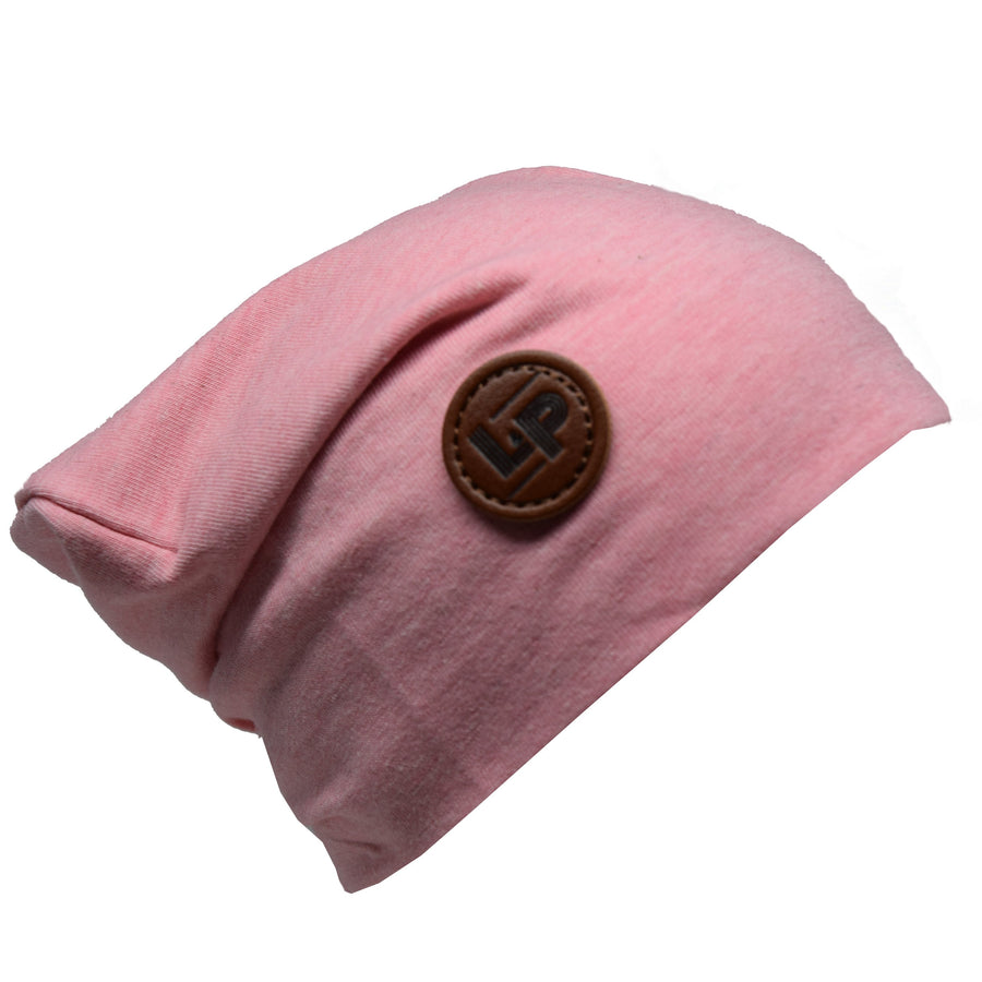 Heather Pink Beanie
