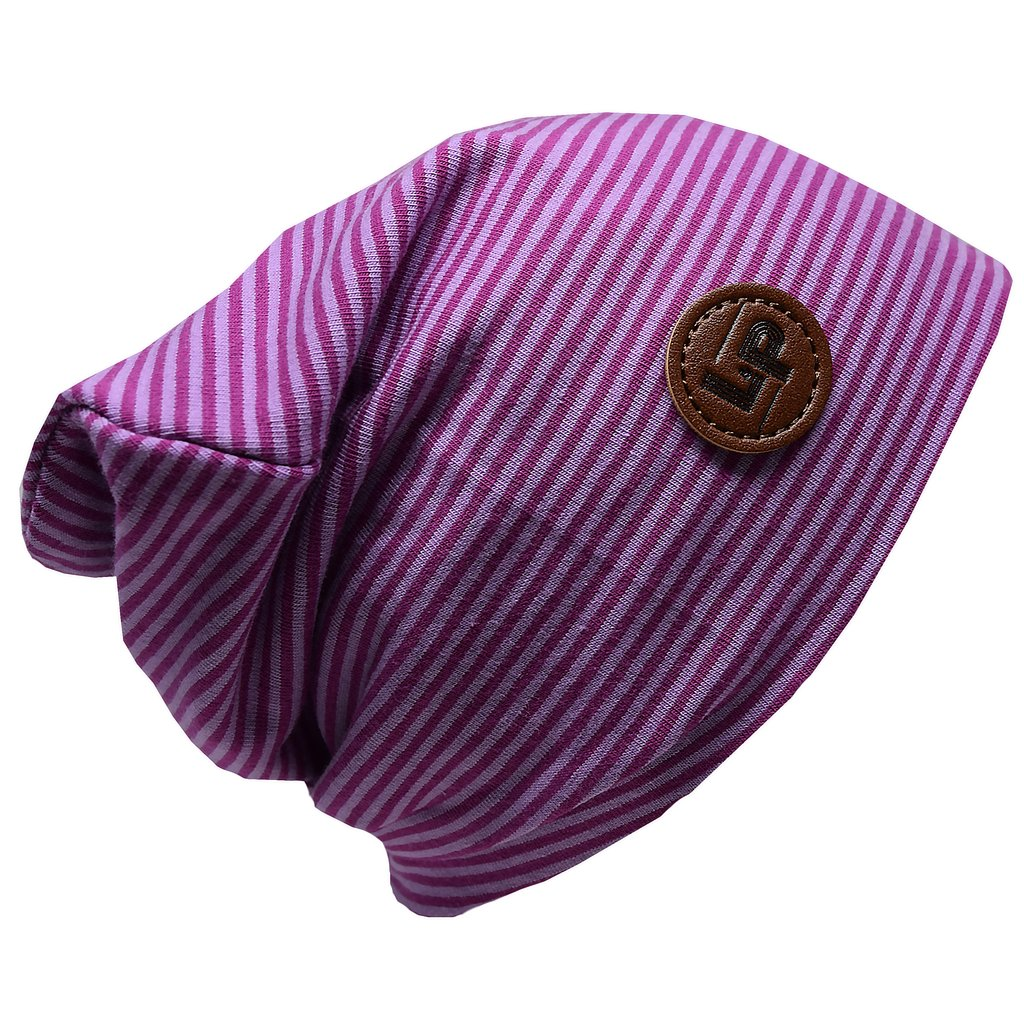 LP Apparel Beanie - Purple / Light Purple