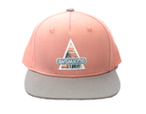 AWSM Peach Waves Snapback