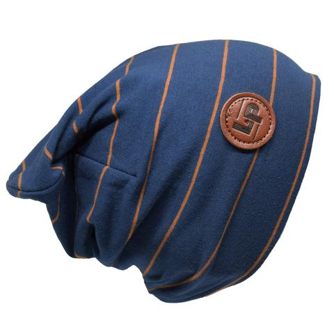 Boston v4.19 (Ocean blue / Caramel) Beanie