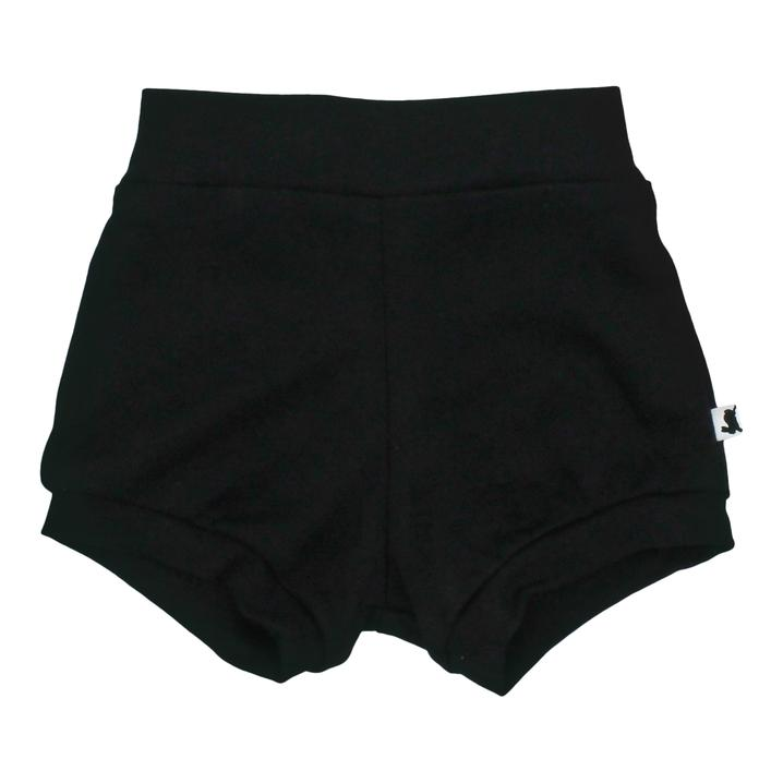 High-waisted Shorties | Black