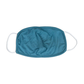 Bamboo Cloth Face Mask-Kids Size (Blue Forest)