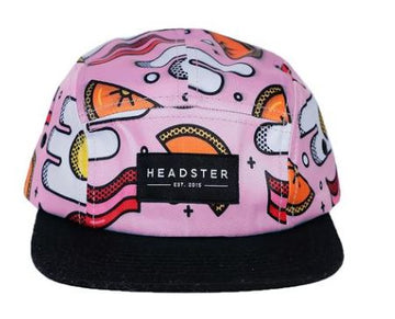Headster 5 Panel - Pink Brunch