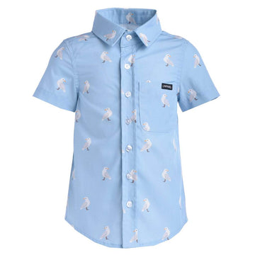 Casual shirt (Seagull Blue)