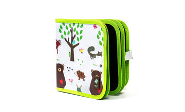 Doodle It & Go Erasable Book - Forest