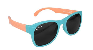 Fraggle Rock Teal & Coral Sunglasses