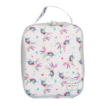 SPARKLES UNICORN INSULATED LUNCH BAG