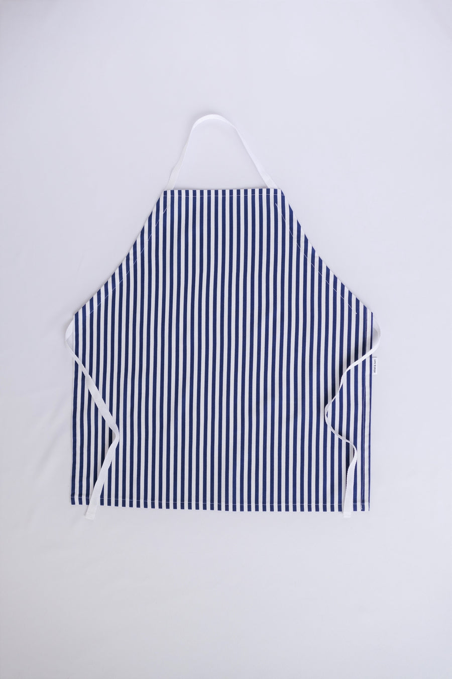 Little Worker Apron - Navy and White Stripes