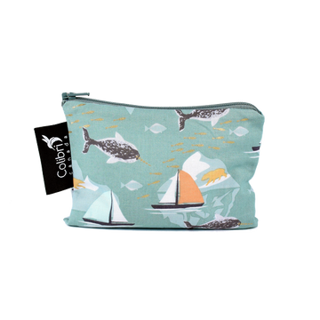 Narwhal - Reusable Snack Bag