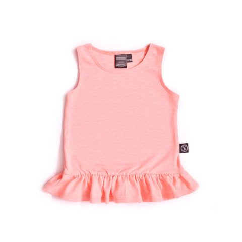 Ruffle Tank - Peach Perfect