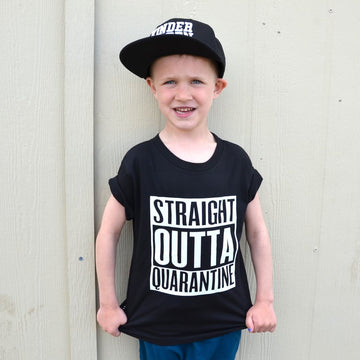 THE STRAIGHT OUTTA QUARANTINE TEE