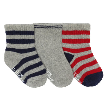 Robeez Daily Dave Socks, 3-Pack