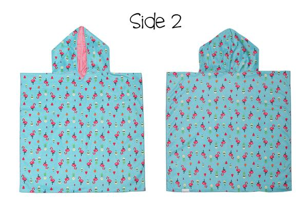 Reversible Kids Cover Up - Unicorn | Tropical