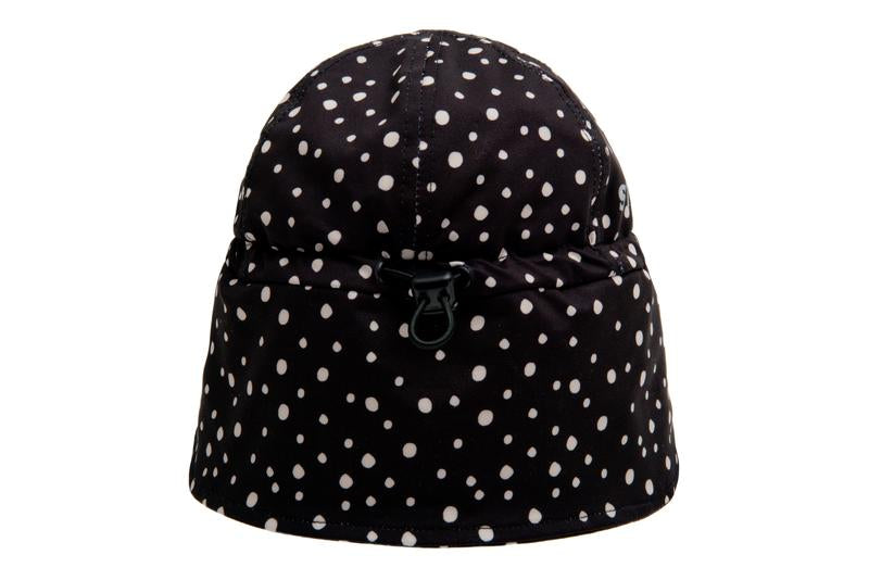FLAP CAP - NIGHT CAMPER - BLACK