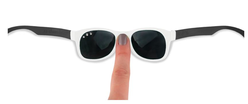 Free Willy Black & White Sunglasses